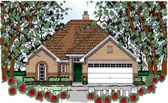 Plan Number 75043 - 1434 Square Feet