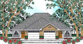 Plan Number 75050 - 1788 Square Feet