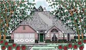 Plan Number 75053 - 1491 Square Feet