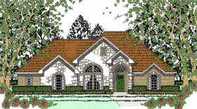 Traditional House Plan 75056 Elevation