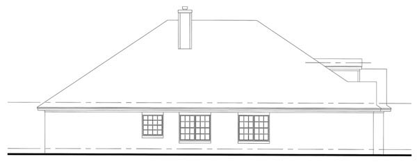 Cottage, Country, Traditional House Plan 75100 with 3 Beds, 2 Baths, 2 Car Garage Picture 1