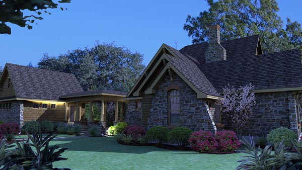 Country, Craftsman, Tuscan House Plan 75106 with 3 Beds, 3 Baths, 2 Car Garage Picture 7