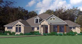 Plan Number 75109 - 2695 Square Feet