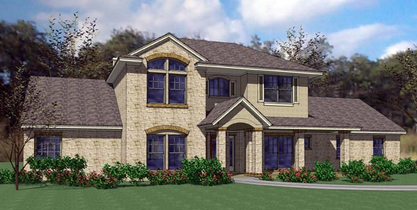 Modern , Contemporary , Coastal House Plan 75113 with 3 Beds, 3 Baths, 3 Car Garage Elevation
