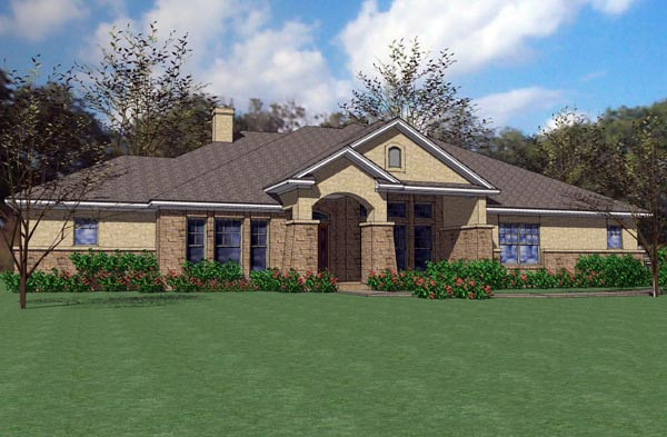 Bungalow House Plan 75116 Elevation