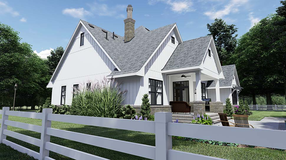 House Plan 75156 | Country Farmhouse Southern Style Plan with 2191 Sq Ft, 4 Bedrooms, 4 Bathrooms, 2 Car Garage