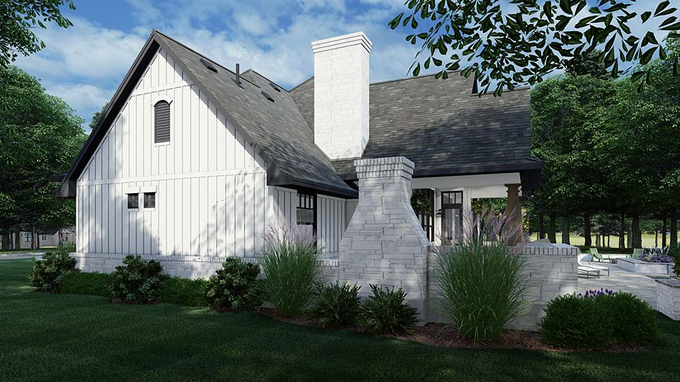 European, Farmhouse, Traditional House Plan 75161 with 4 Beds, 3 Baths, 2 Car Garage Picture 6