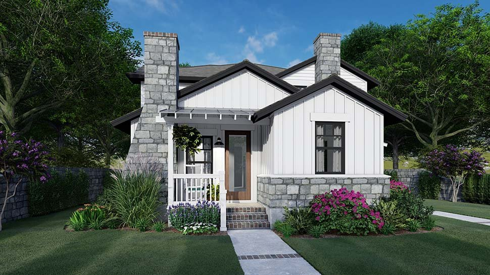 Cottage, Farmhouse Multi-Family Plan 75162 with 6 Beds, 6 Baths, 4 Car Garage Picture 1