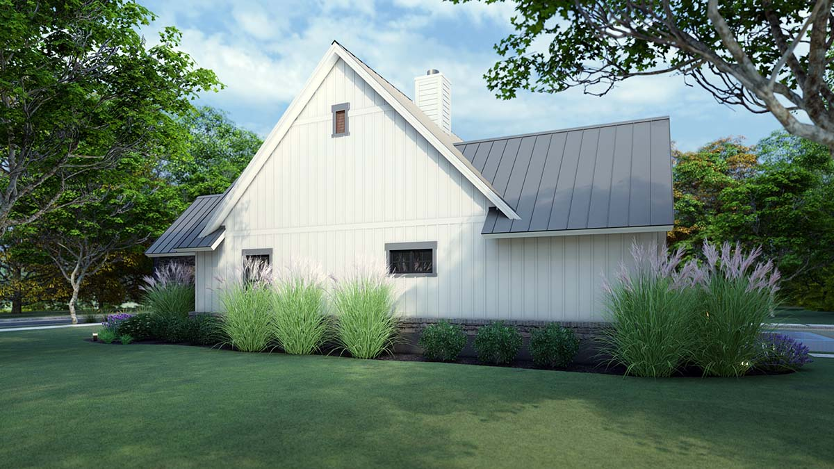 Cottage, Farmhouse, Ranch, Southern House Plan 75167 with 3 Beds, 3 Baths, 2 Car Garage Picture 1