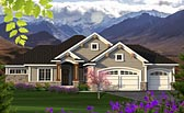 Plan Number 75201 - 1709 Square Feet