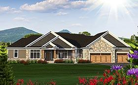 Craftsman House Plan 75226 Elevation