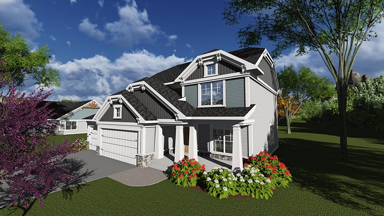Bungalow Cottage Traditional House Plan 75241 Elevation