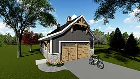 Country Craftsman Garage Plan 75250 Elevation