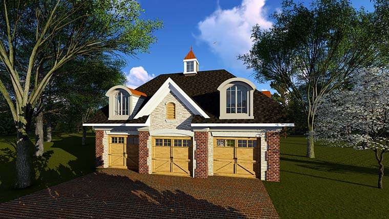 Garage Plan 75252 Elevation