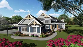 Bungalow Cottage Craftsman House Plan 75269 Elevation