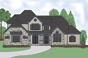 Plan Number 75306 - 4388 Square Feet