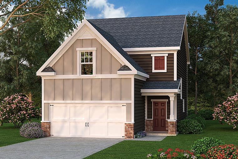 Traditional House Plan 75319 Elevation