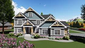 Craftsman Traditional House Plan 75409 Elevation