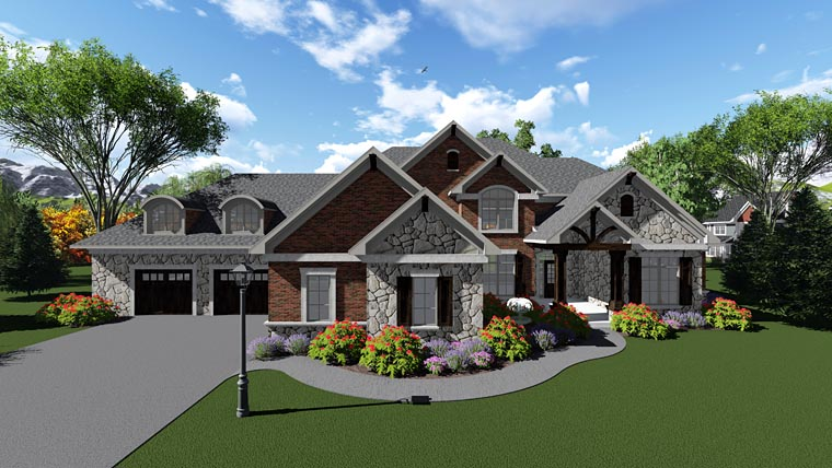 Traditional House Plan 75416