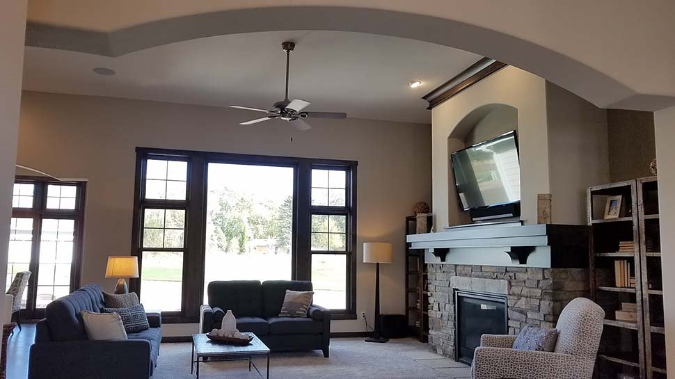 Craftsman, Ranch, Traditional House Plan 75462 with 3 Beds, 3 Baths, 3 Car Garage Picture 6