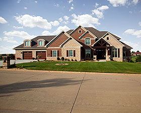 Craftsman , Ranch , Traditional House Plan 75479 with 6 Beds, 5 Baths, 3 Car Garage Elevation