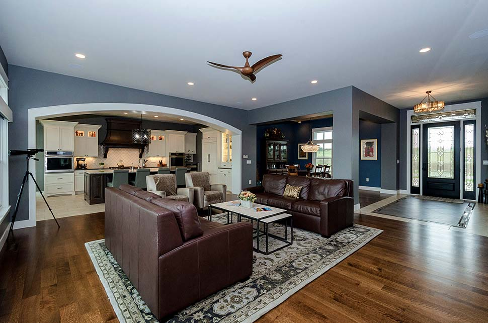 Craftsman, Ranch, Traditional House Plan 75486 with 4 Beds, 4 Baths, 3 Car Garage Picture 2