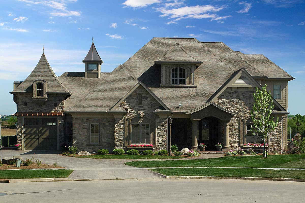 European, French Country, Tuscan House Plan 75492 with 4 Beds, 4 Baths, 3 Car Garage
