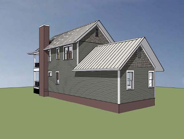 Colonial, Southern House Plan 75500 with 3 Beds, 3 Baths Picture 1