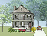 Plan Number 75504 - 1667 Square Feet