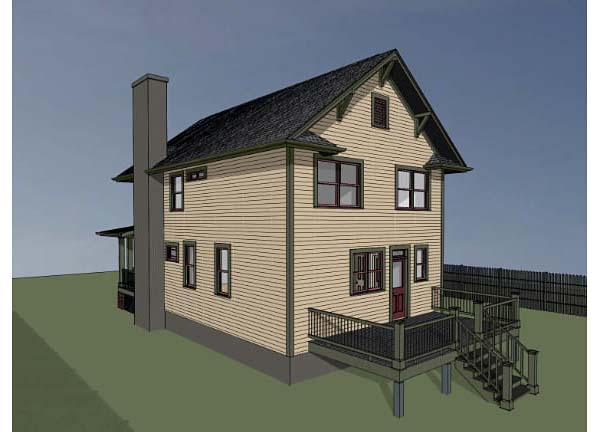 Colonial, Country House Plan 75508 with 3 Beds, 3 Baths Picture 1
