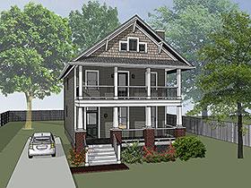 House Plan 75509