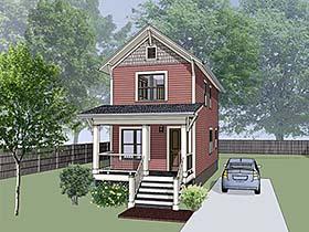 House Plan 75513