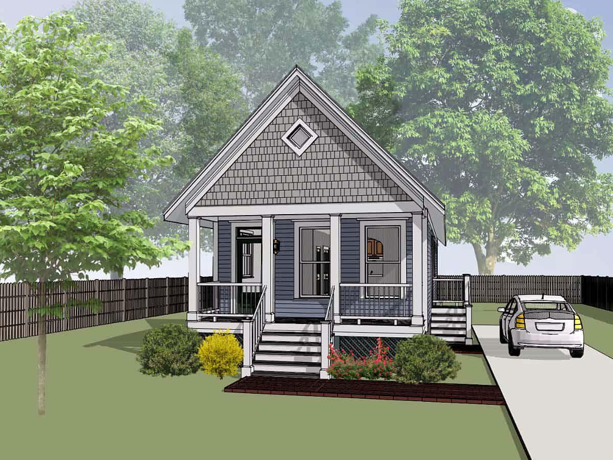 House Plan 75514
