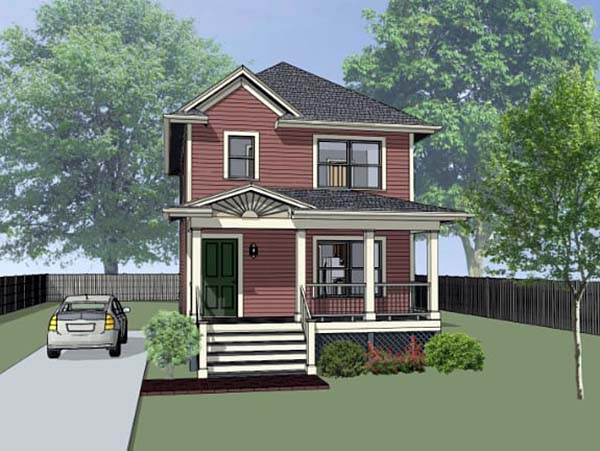 House Plan 75519