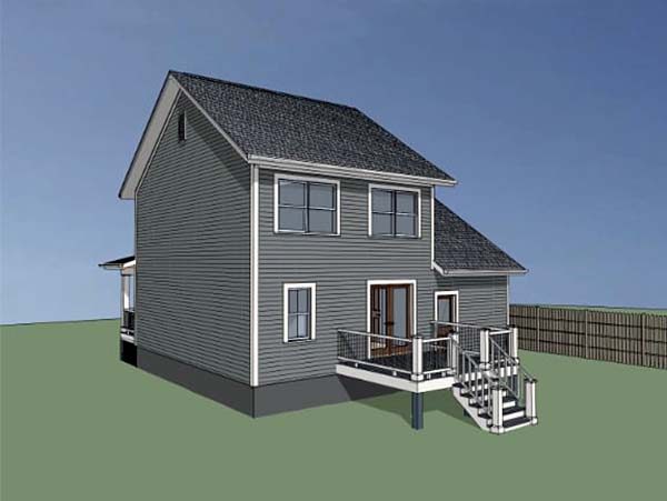 Colonial, Country, Southern House Plan 75520 with 3 Beds, 3 Baths, 1 Car Garage Picture 1