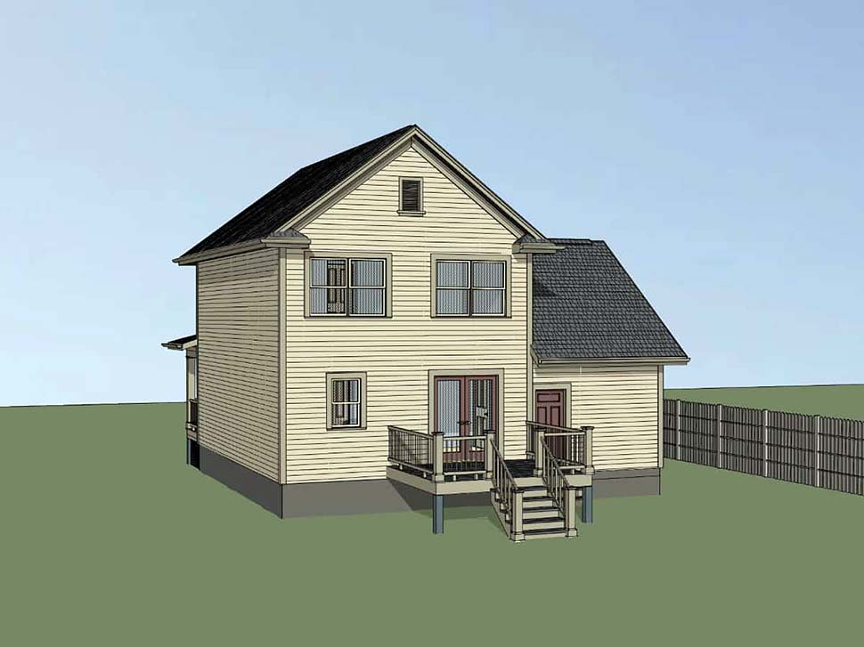Colonial, Country House Plan 75532 with 3 Beds, 3 Baths, 1 Car Garage Picture 1