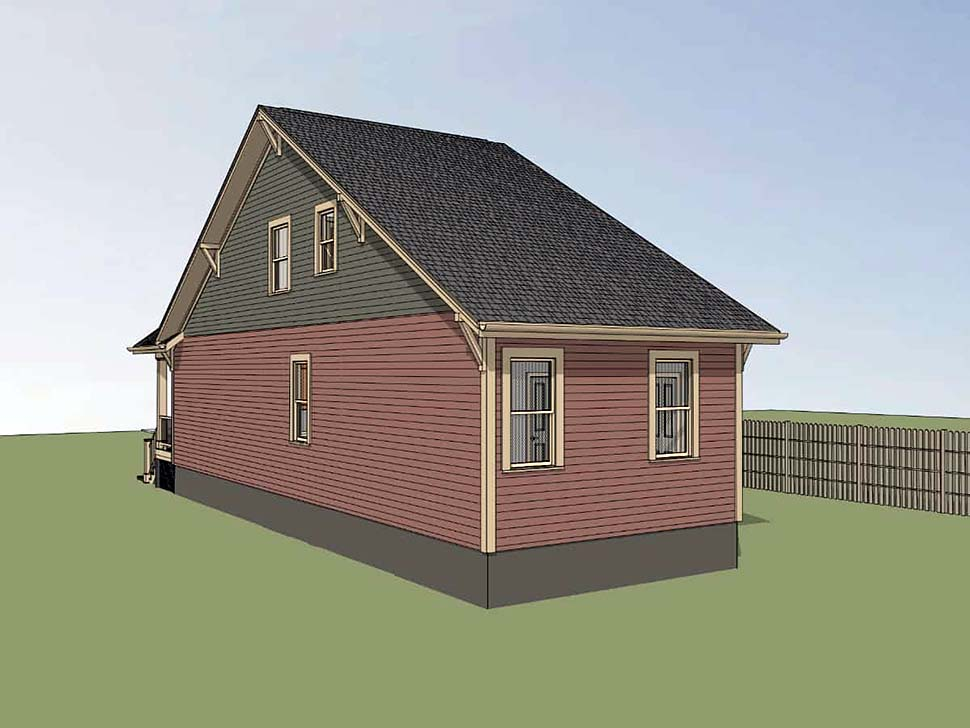 Cottage, Country House Plan 75533 with 3 Beds, 2 Baths Picture 1