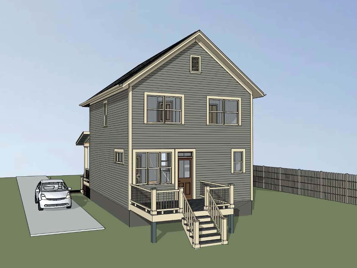 Colonial, Southern House Plan 75540 with 3 Beds, 3 Baths Picture 1