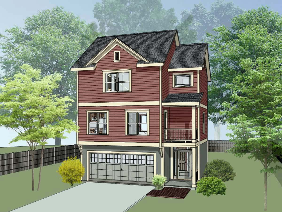 House Plan 75546