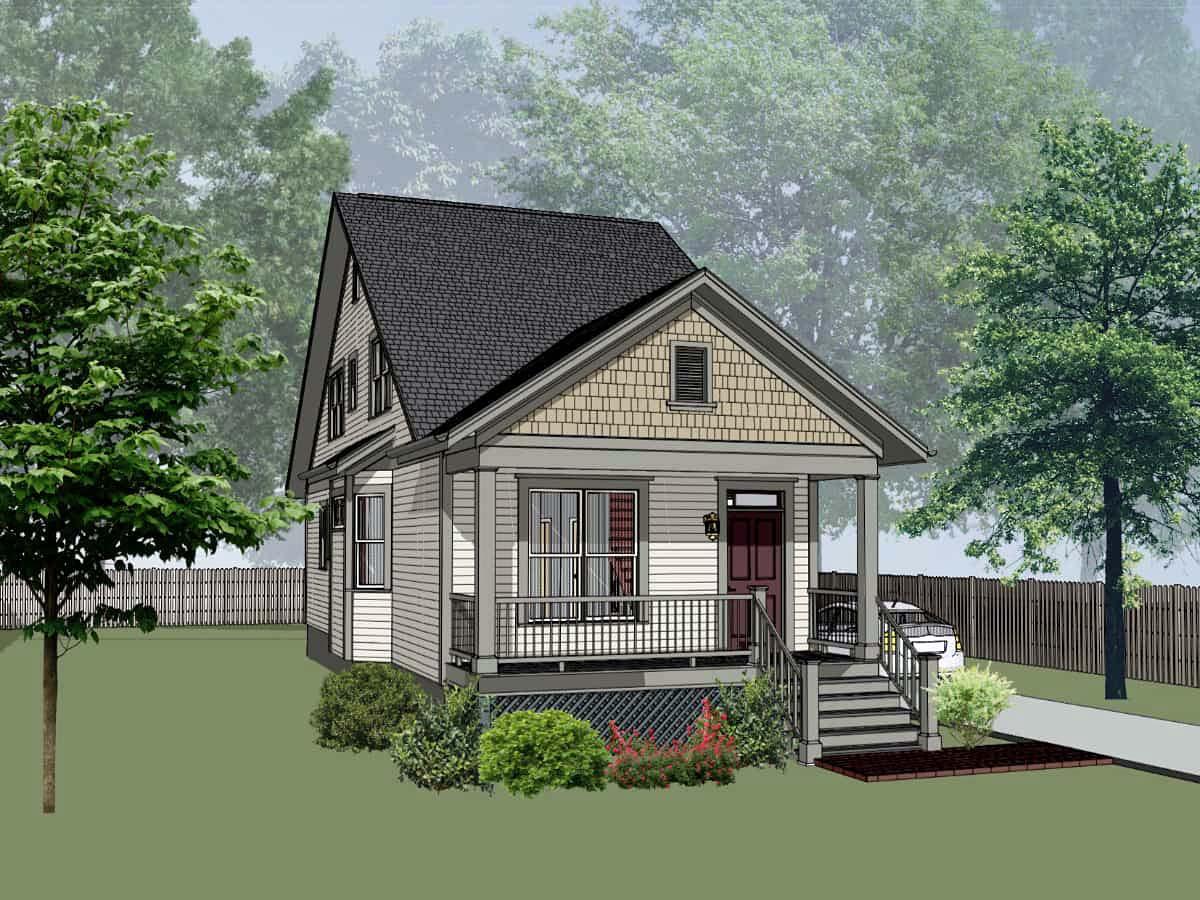 House Plan 75547