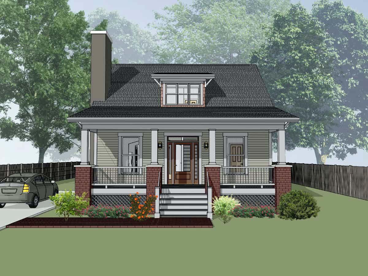 House Plan 75548