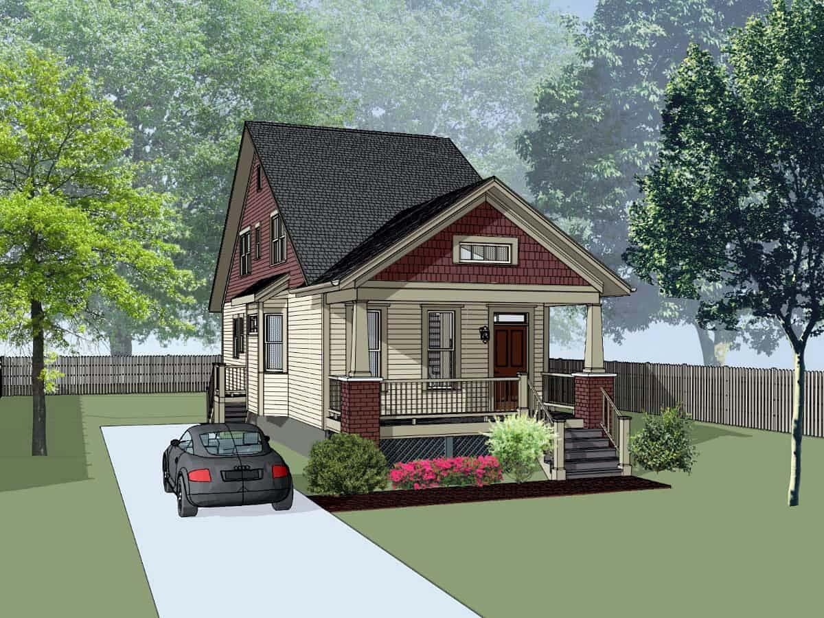 House Plan 75549