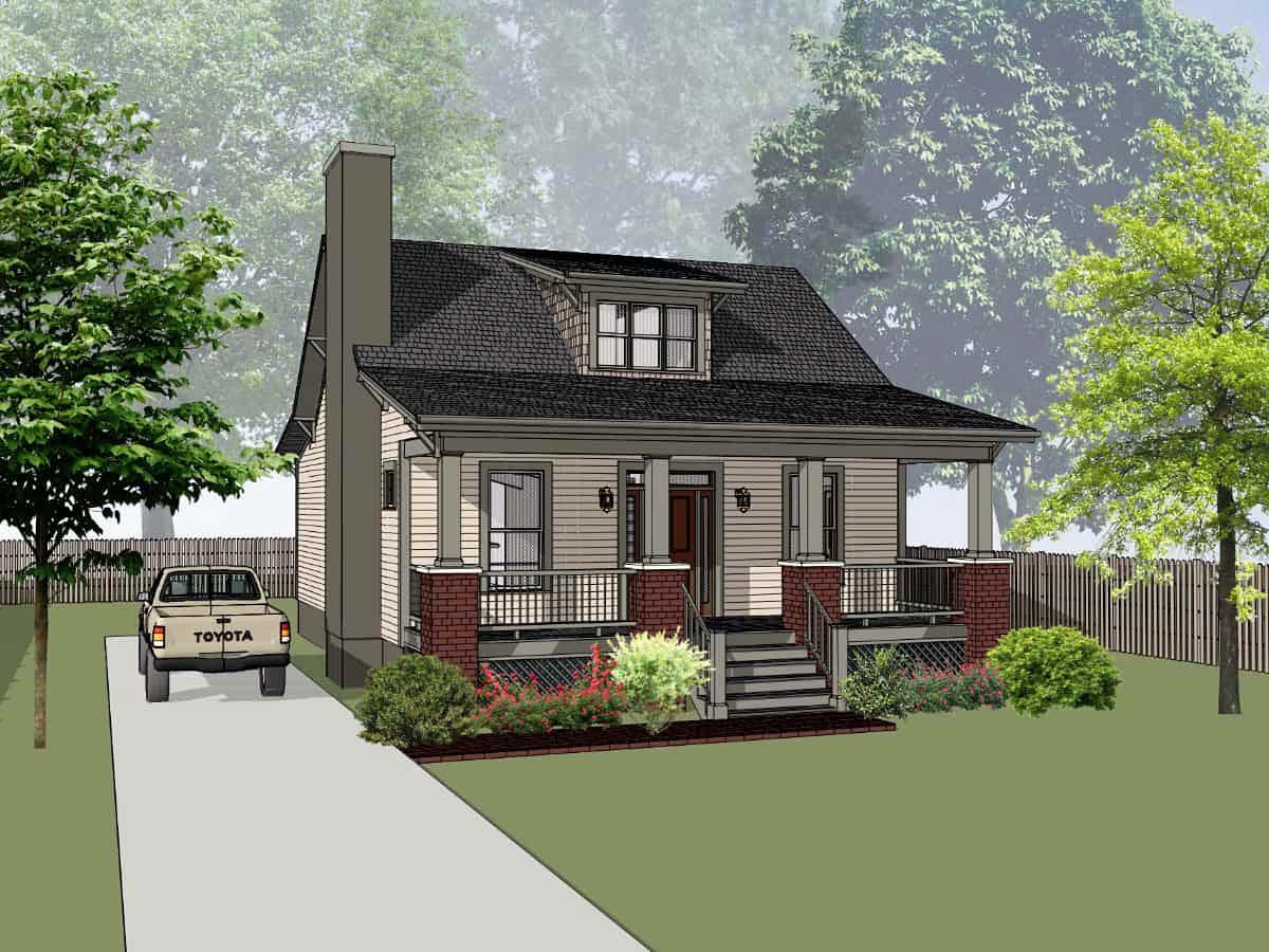 House Plan 75551