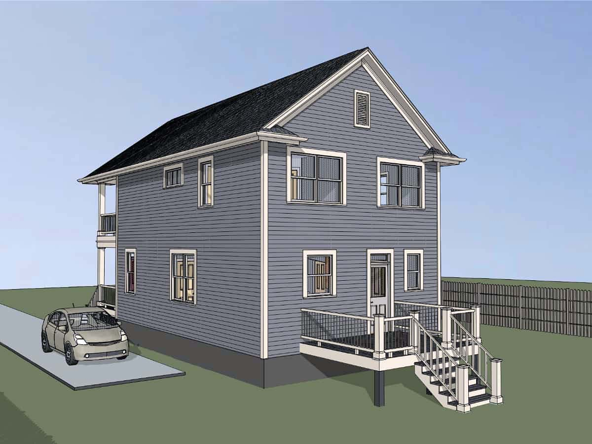 Colonial, Southern House Plan 75552 with 3 Beds, 3 Baths Picture 1