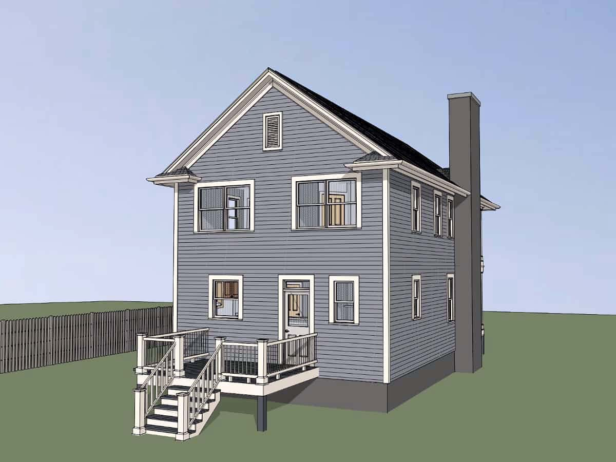 Colonial, Southern House Plan 75552 with 3 Beds, 3 Baths Picture 2