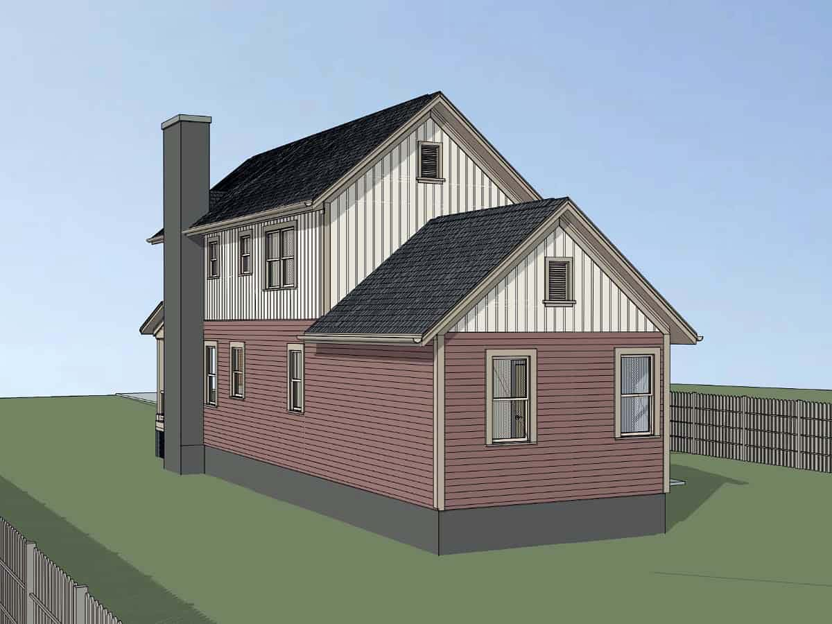 Colonial, Country, Southern House Plan 75554 with 3 Beds, 2 Baths Picture 1
