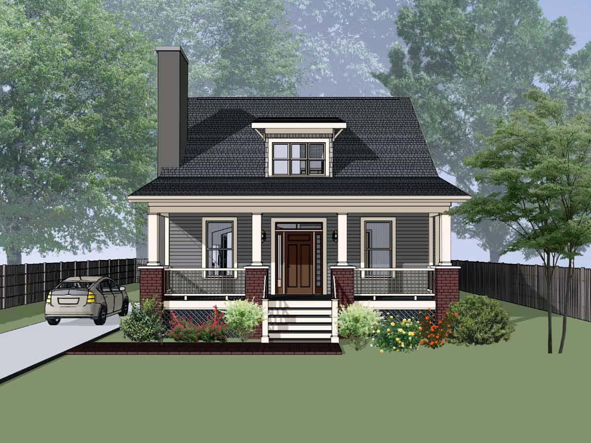 House Plan 75556