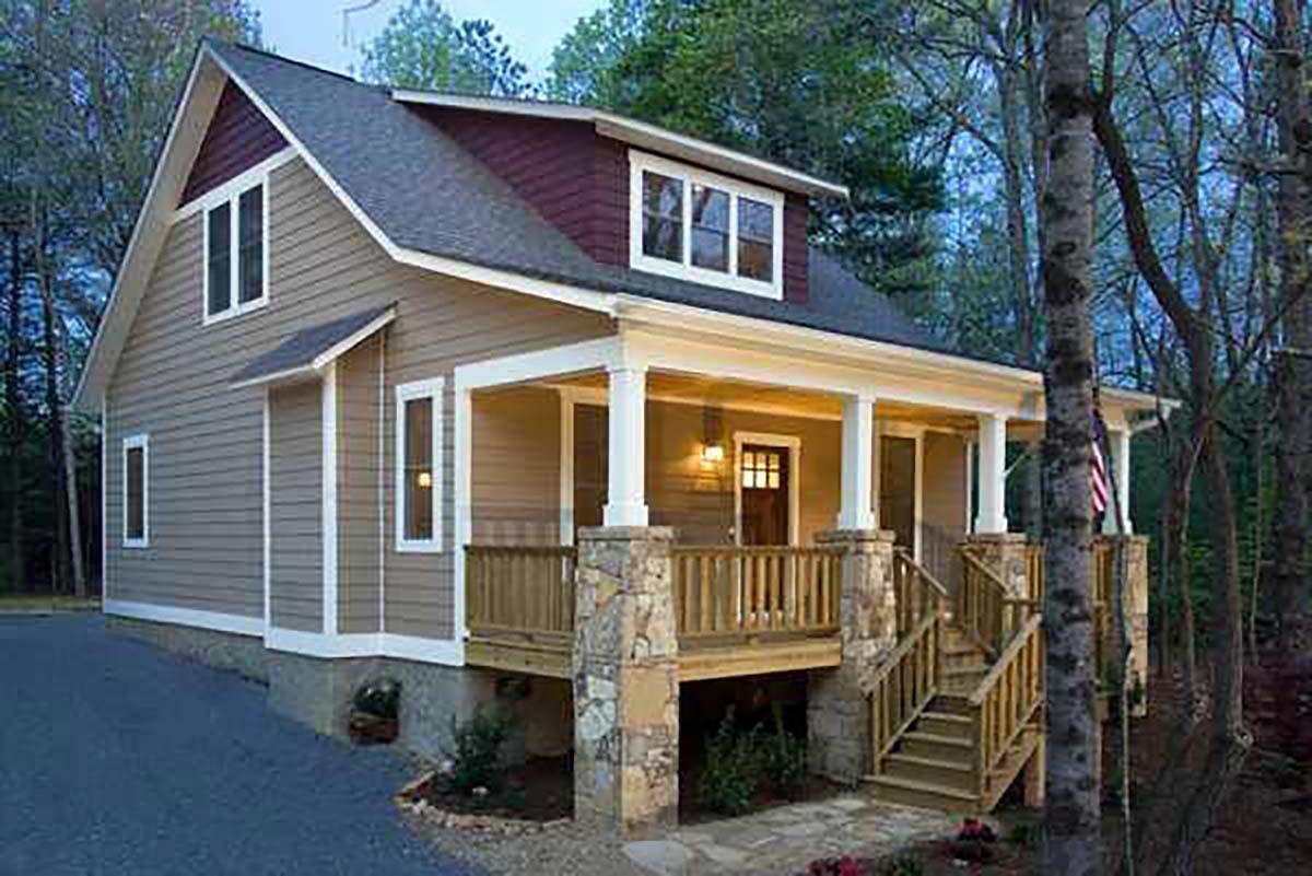 House Plan 75558