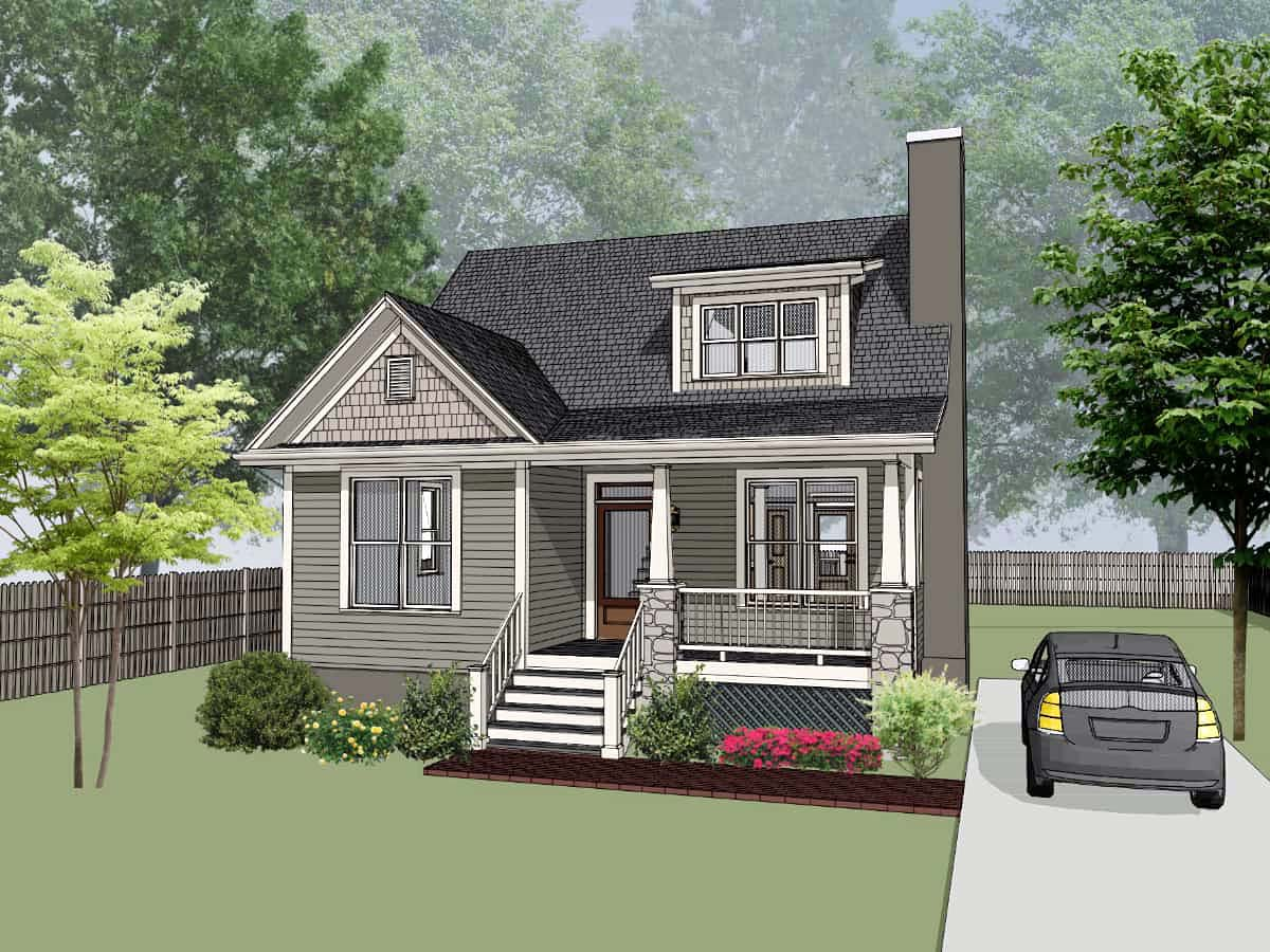 House Plan 75560