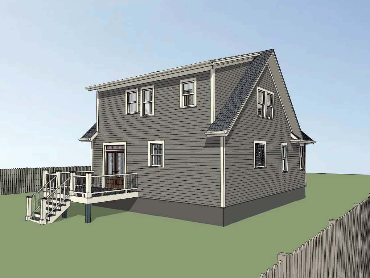 Bungalow, Cottage, Country, Craftsman House Plan 75560 with 3 Beds, 3 Baths Picture 2